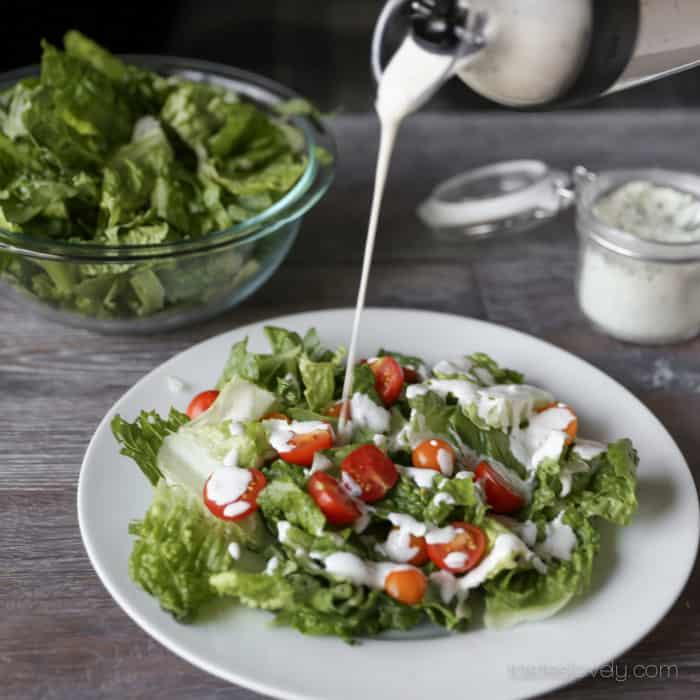 BBQ Chicken Chopped Salad Recipe | Tastes Lovely