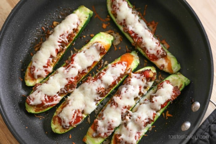 You, zucchini's, are going to make a very yummy dinner.