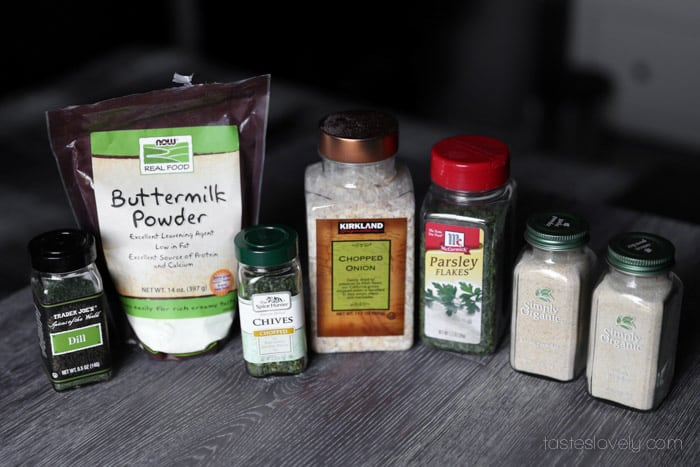 Homemade Ranch Dressing Mix from Scratch