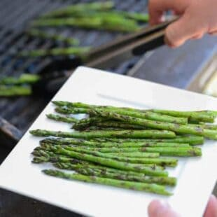 Simple Grilled Asparagus | Tastes Lovely