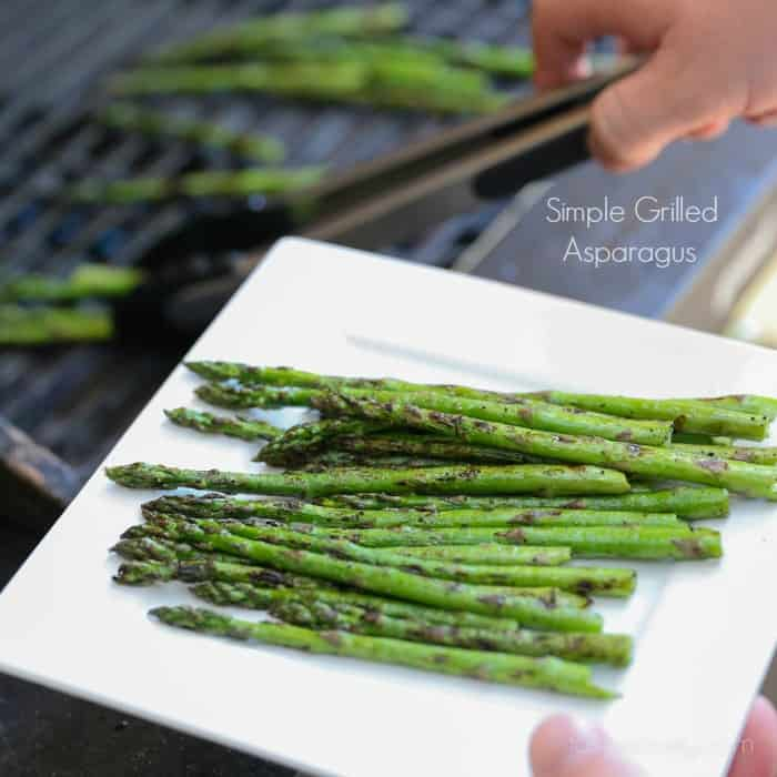 Simple Grilled Asparagus