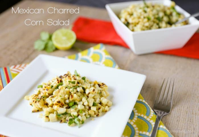 Mexican Charred Corn Salad   tasteslovely.com