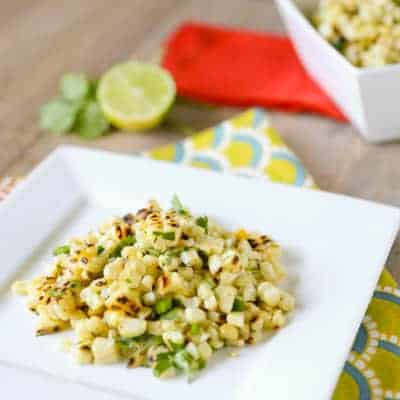Mexican Charred Corn Salad