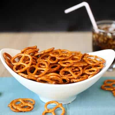 Seasoned Pretzels | Tastes Lovely