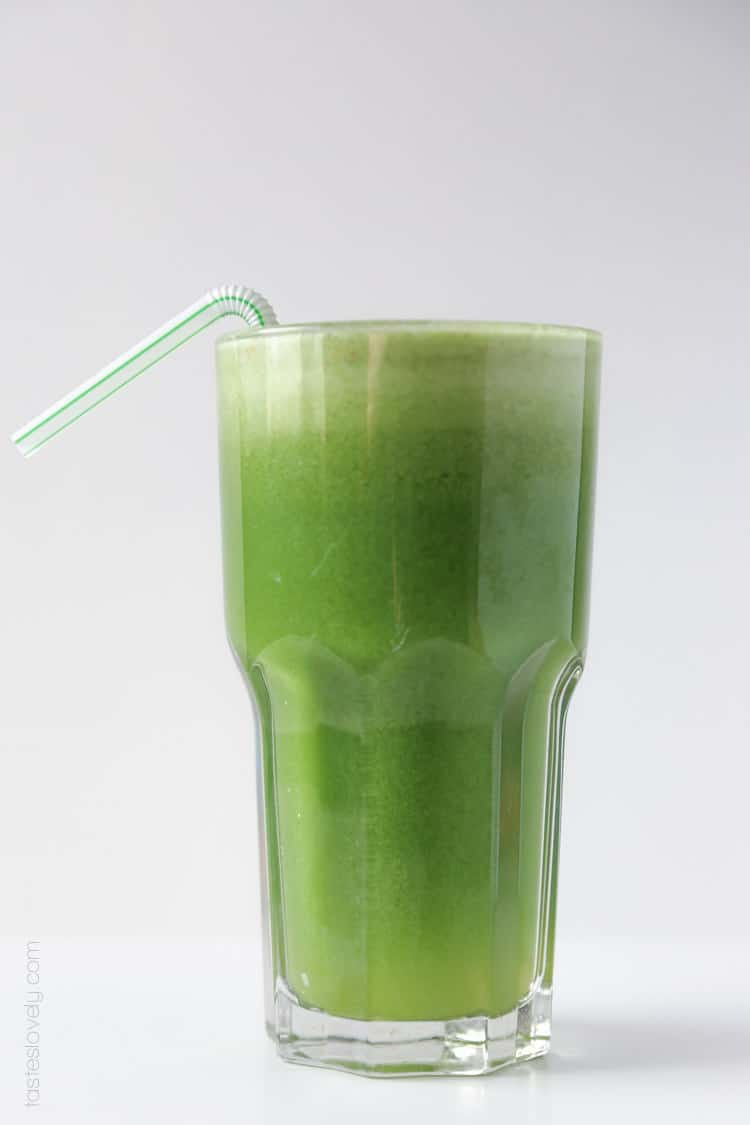 Apple & Fennel Detox Green Juice