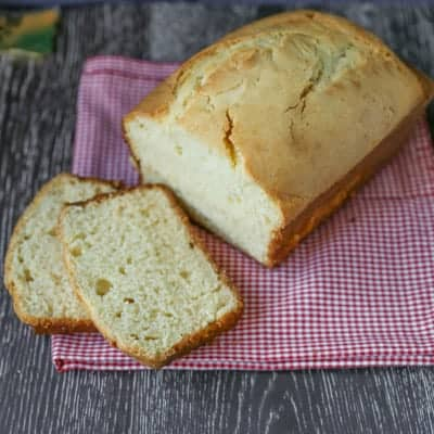 Holiday Eggnog Bread | tasteslovely.com