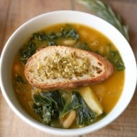 Potato, White Bean & Kale Vegan Soup