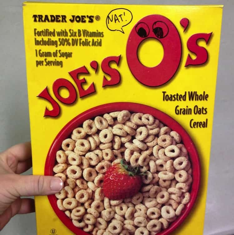 Decorated Joe's O's