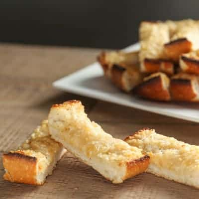 Easy Homemade Garlic Bread | tasteslovely.com