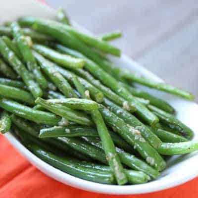 Garlicky Green Beans | tasteslovely.com