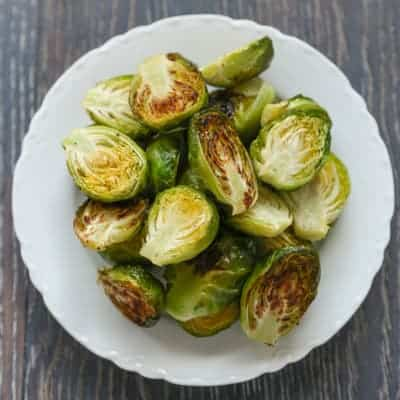 Roasted Brussels Sprouts | tasteslovely.com