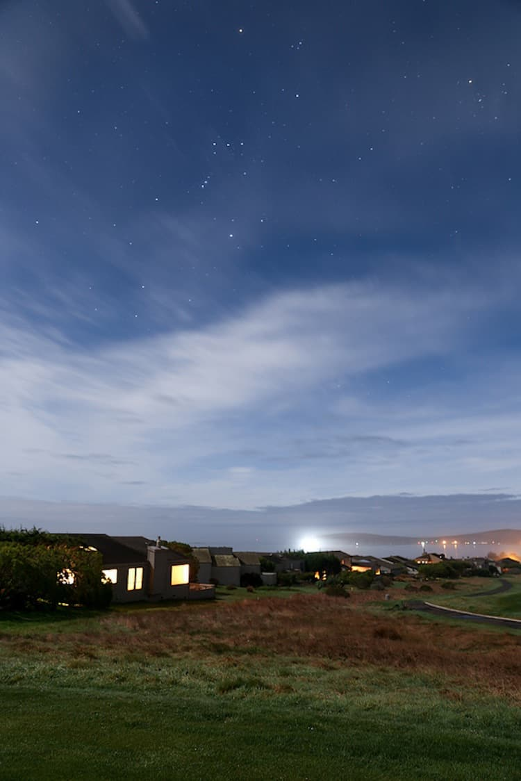 Bodega Bay Long Exposure Photo