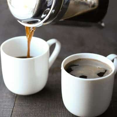 How to make french press coffee | tasteslovely.com