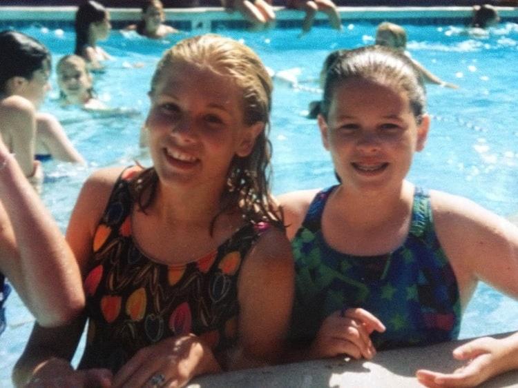 Natalie + Caitlin, 5th grade
