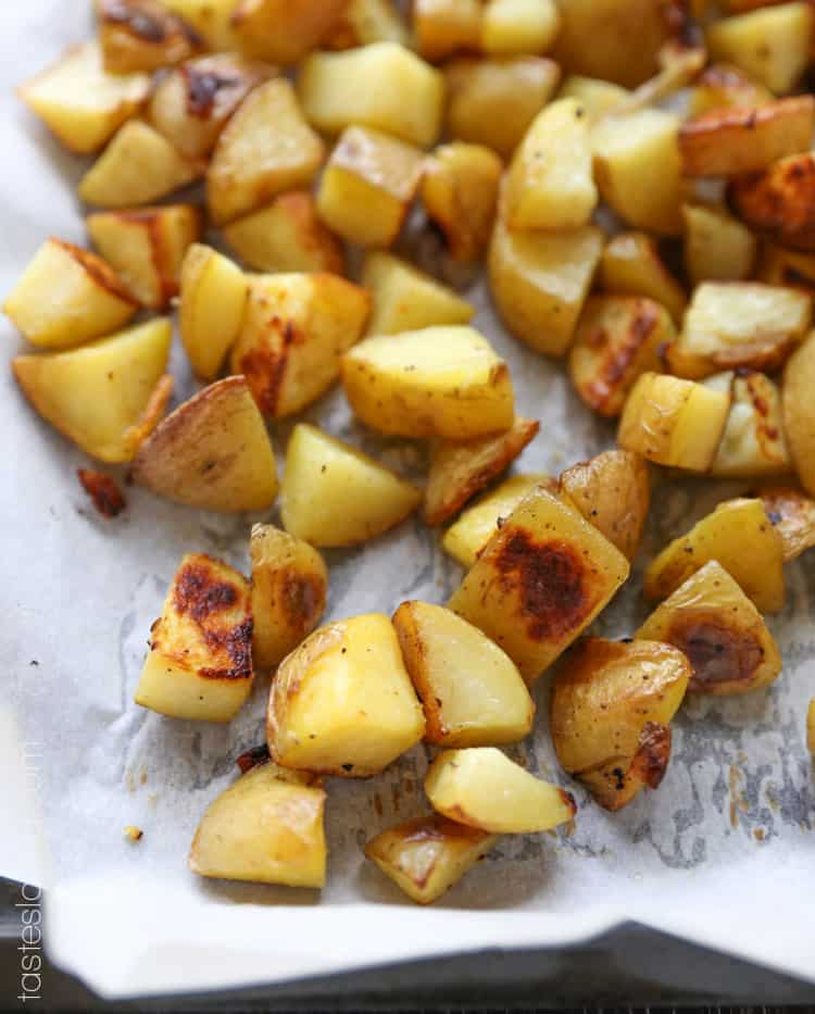 Easy Way To Cook Roasted Red Potatoes: Easy Oven Roasted Potatoes