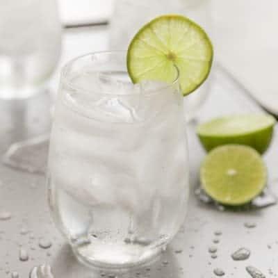 Skinny No-Hangover Cocktail | tasteslovely.com