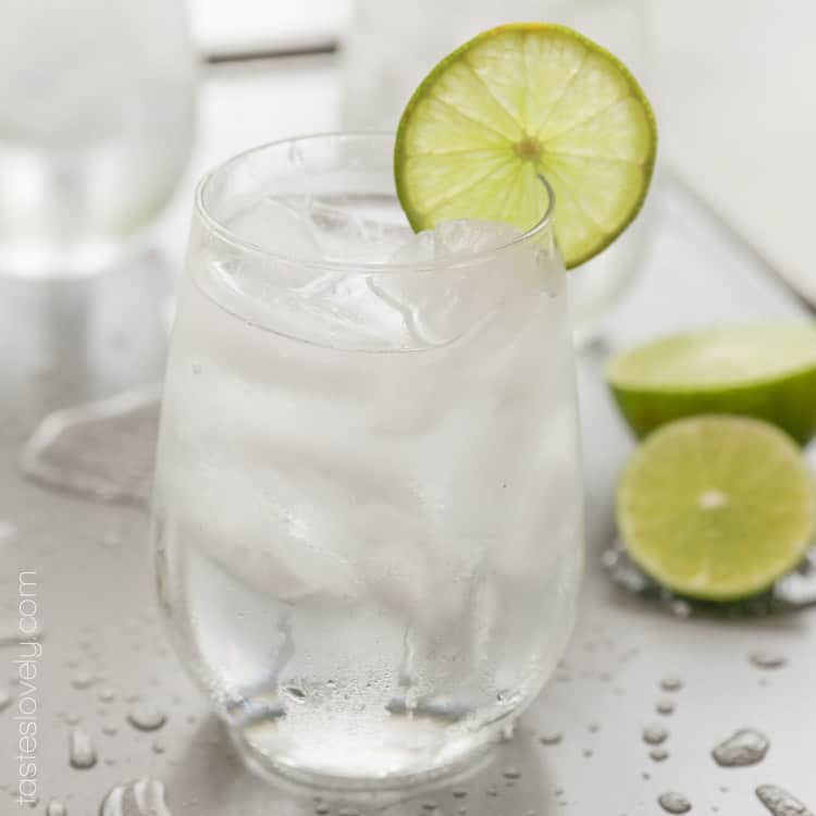Low Calorie Anti-Hangover Cocktail, 120 calories and wake up feeling great