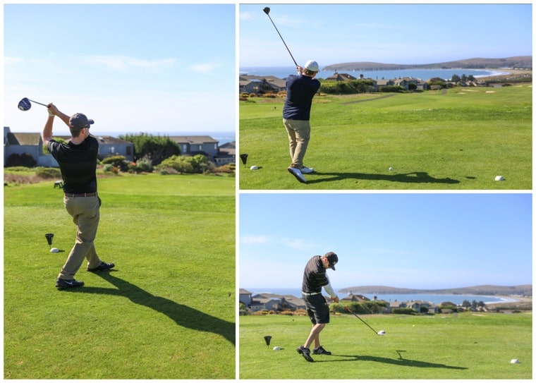 Bodega Bay Vacation, golfing at the Links