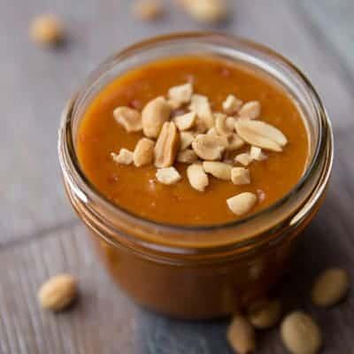 Asian Peanut Sauce and Salad Dressing   tasteslovely.com