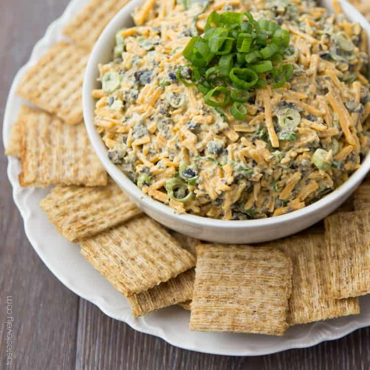 Cheddar Cheese & Curry Dip