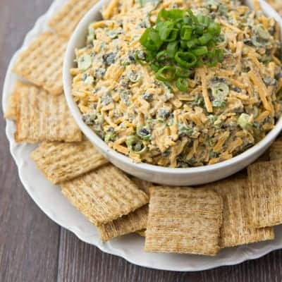 Cheddar Cheese & Curry Dip | tasteslovely.com