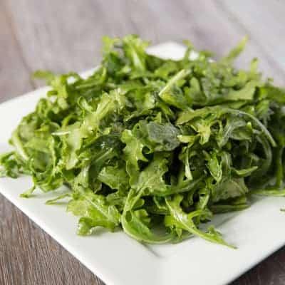 Arugula Salad + My Favorite Balsamic Vinaigrette | tasteslovely.com