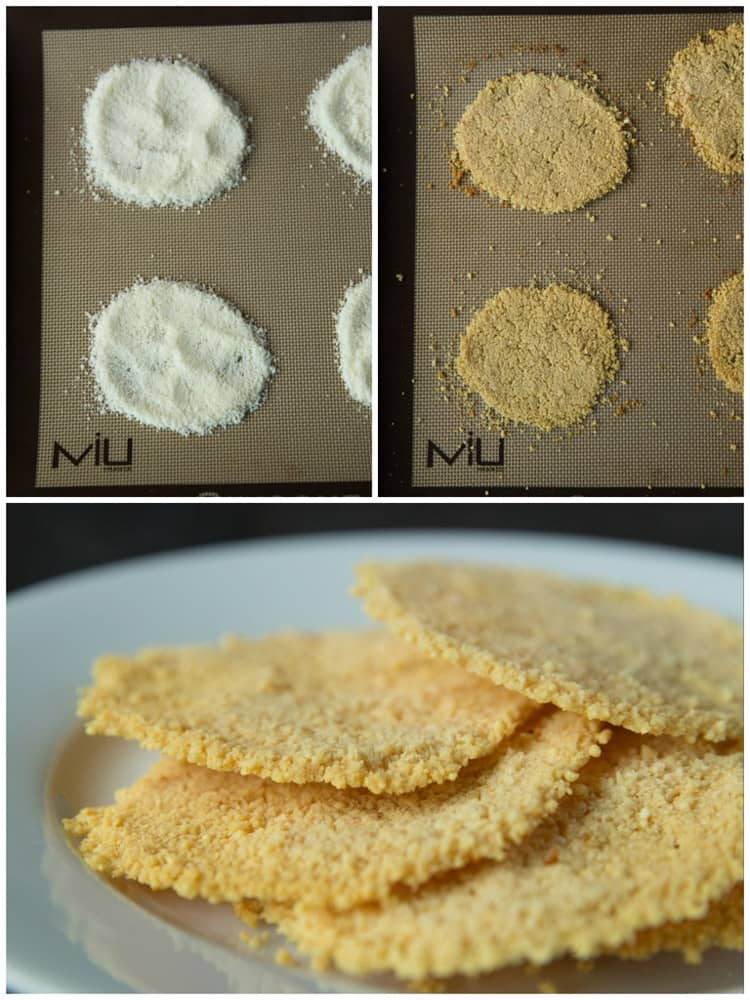 How to make parmesan frico crisps