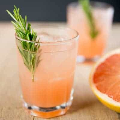 Rosemary Greyhound Cocktail | tasteslovely.com