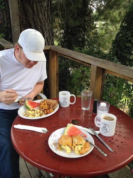 Breakfast at Cherubini