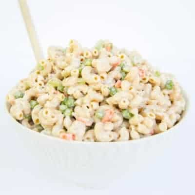 Creamy ranch pasta salad | tasteslovely.com
