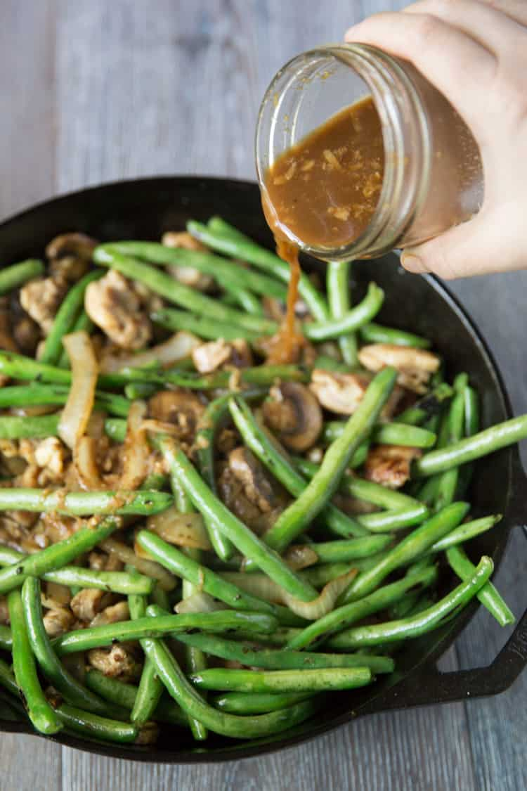 Recipe chicken green beans stir fry