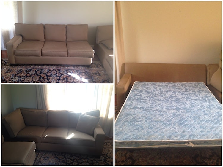 More views of new couch