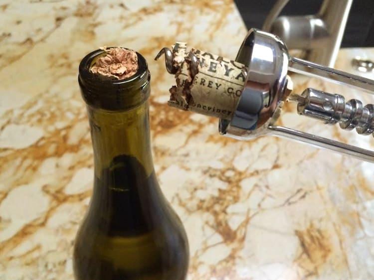 Broken Wine Cork