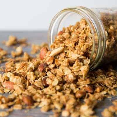 Easy Homemade Granola | tasteslovely.com