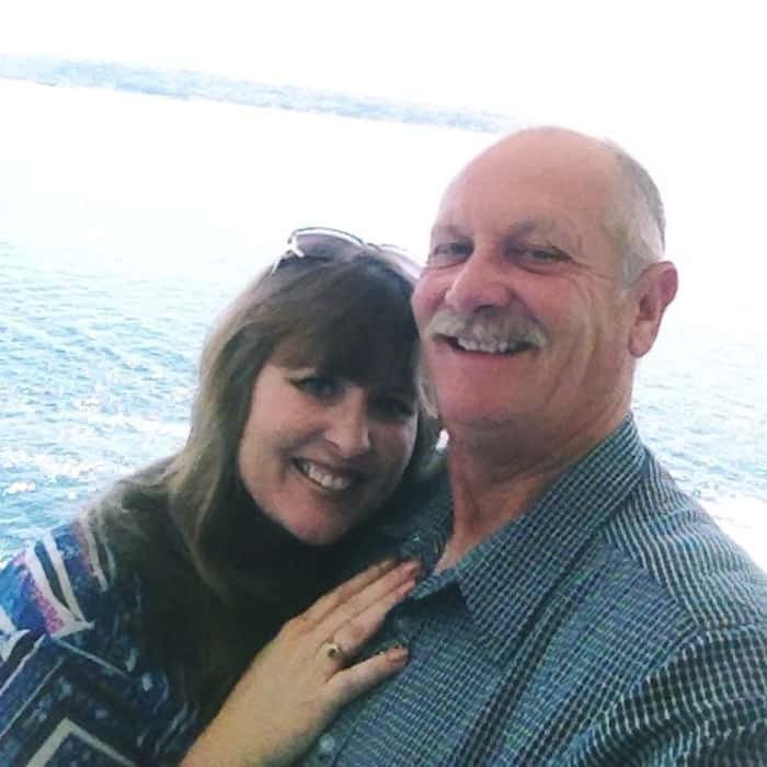 Parents on Alaska Cruise