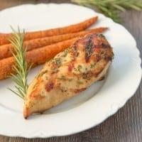 Wine Marinated Chicken with Lemon & Rosemary