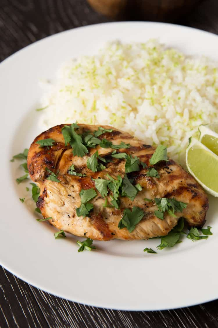 Bring new life to plain chicken breasts with this Thai Coconut Lime Chicken recipe. Full of coconut and lime flavor!