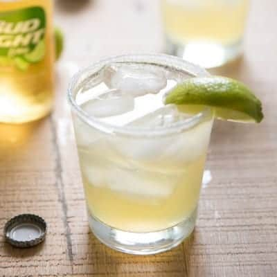 Beer Margaritas made with Bud Light Lime, one of the easiest and tastiest margaritas I've ever had!-4