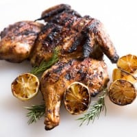 Grilled lemon and rosemary flattened chicken-01-2