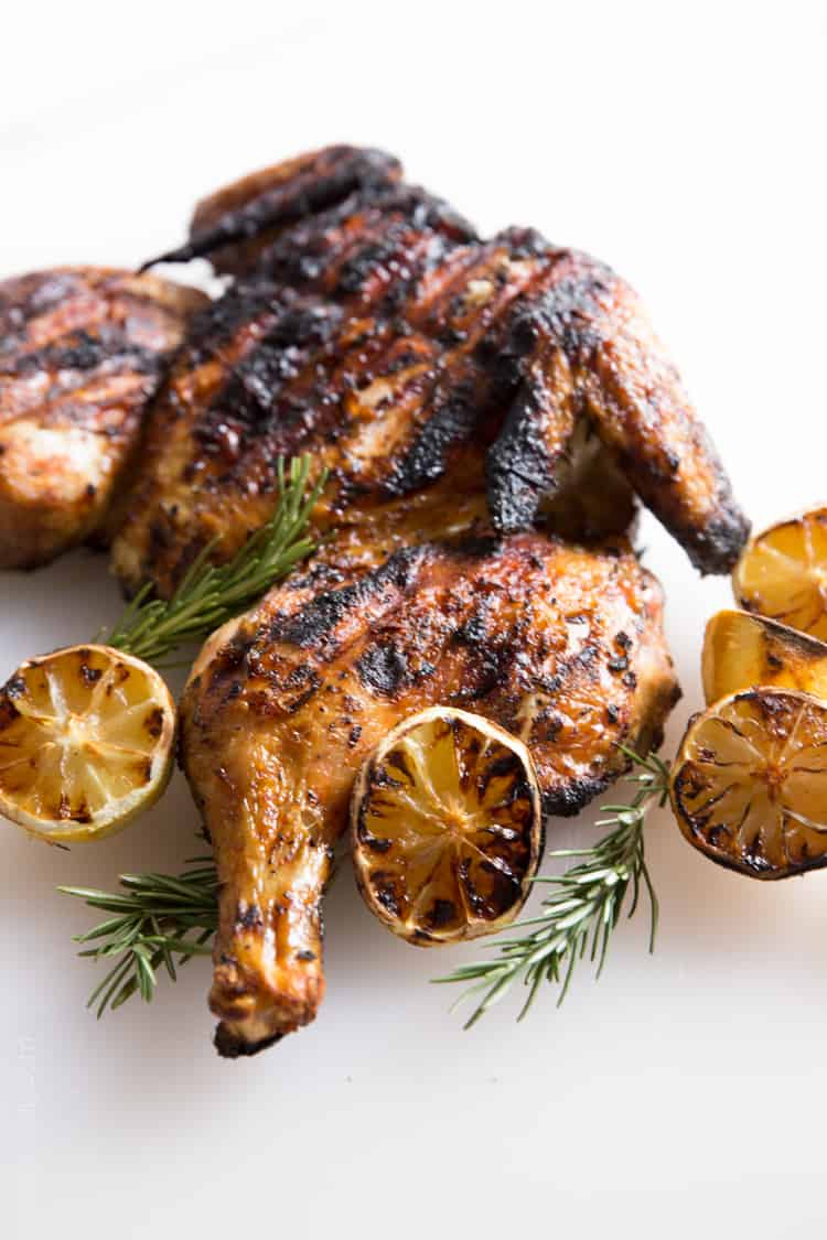 Grilled lemon and rosemary flattened chicken-01