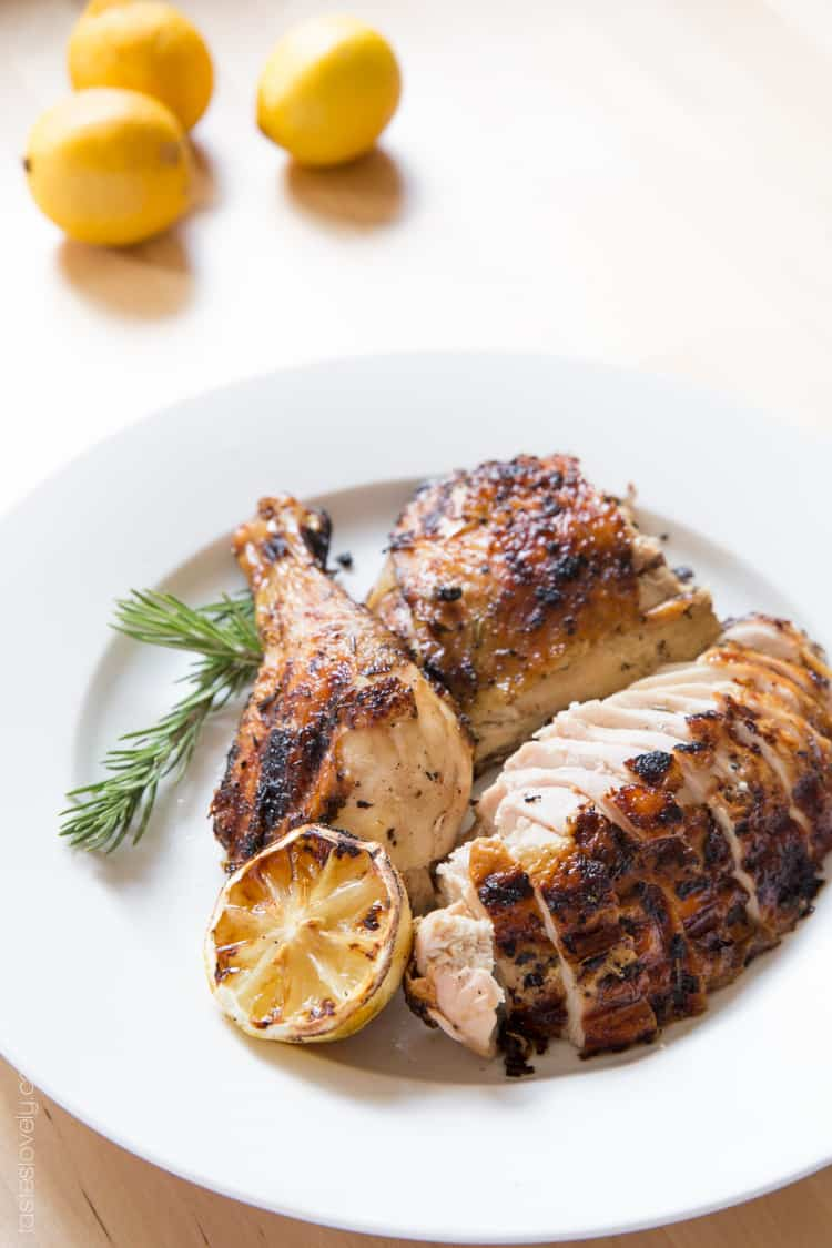 Grilled lemon and rosemary flattened chicken-03