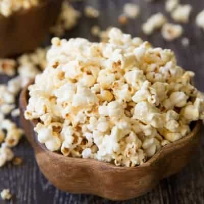 Homemade Kettle Corn | tasteslovely.com