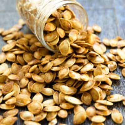 Roasted Spicy Seasoned Pumpkin Seeds-1-2