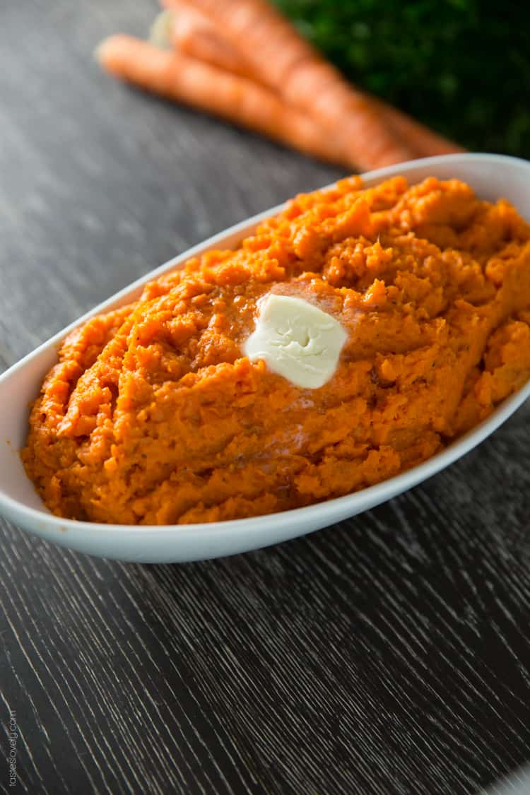 Healthy Mashed Carrots