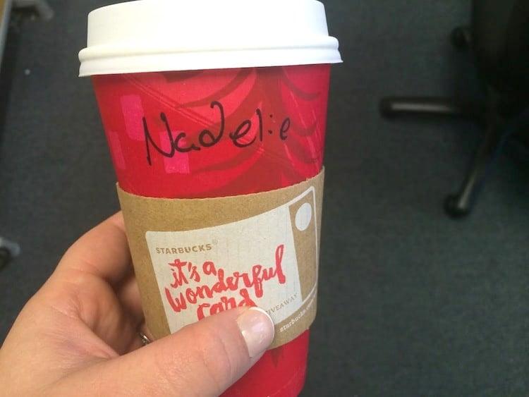 Starbucks Name Spelling Fail