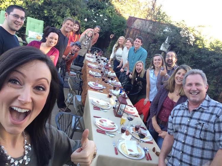 Gruendl Thanksgiving Dinner