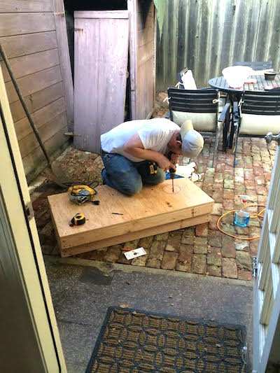 Building Cornhole Boards