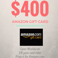 $400 Amazon Giftcard Giveaway