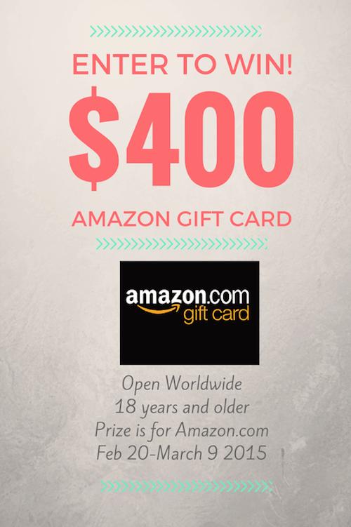 Amazon Giftcard Giveaway