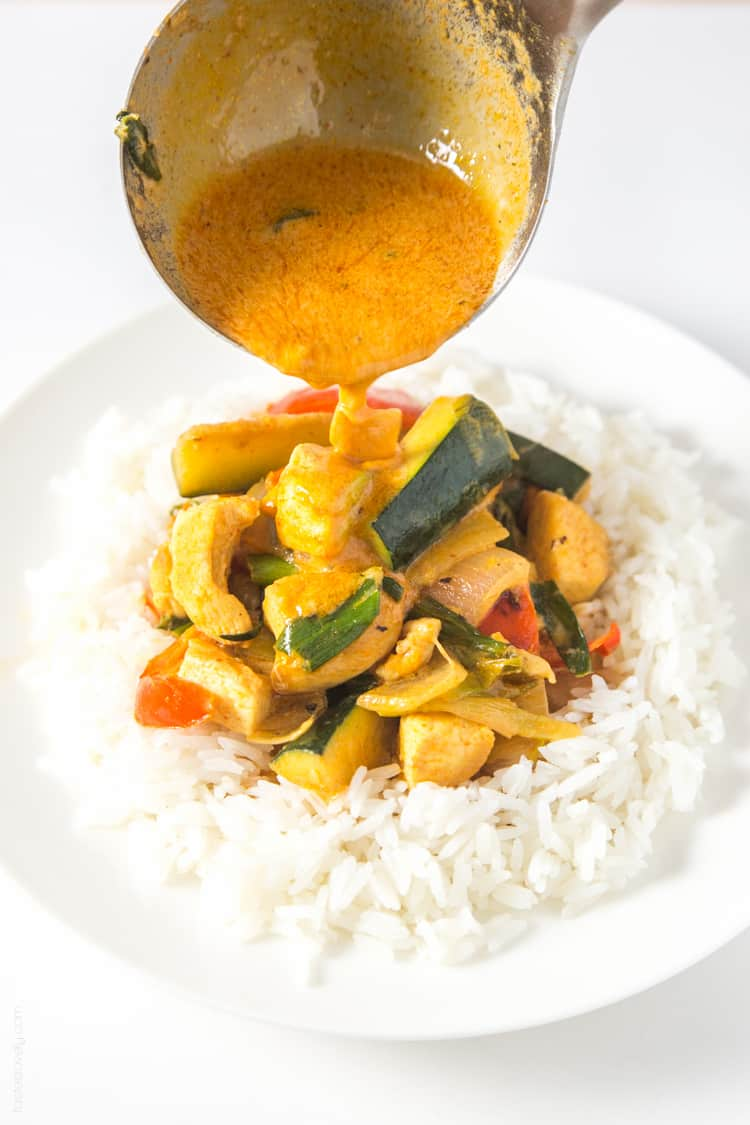 Coconut chicken thai curry tastes lovely coconut chicken thai curry easy healthy and full of flavor paleo forumfinder Choice Image